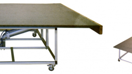 MANUAL GLASS PANEL CUTTING TABLE